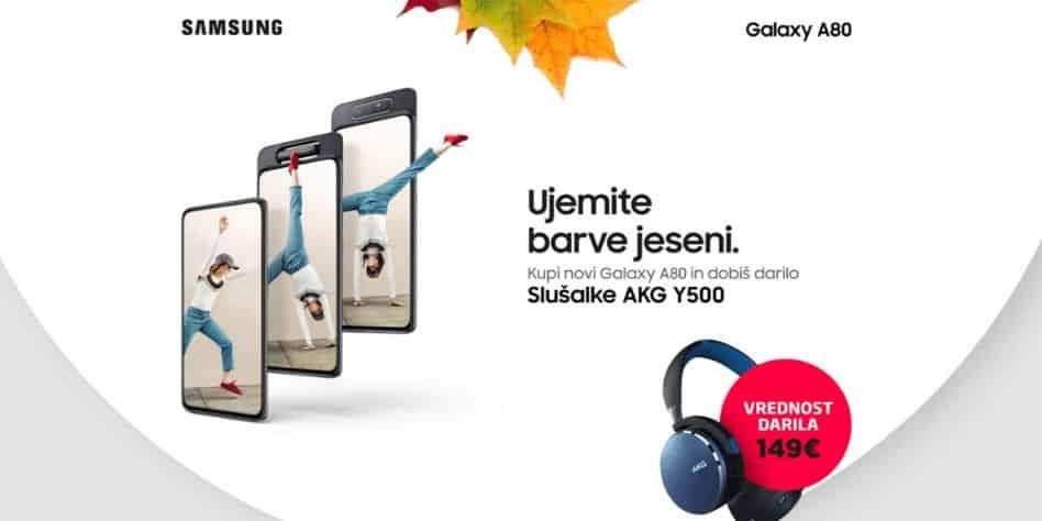 Spoznajte Samsung Galaxy A80