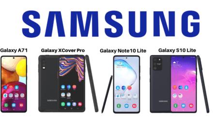 Novi Samsungi v ponudbi: A71, S10 Lite, Note10 Lite in XCover Pro