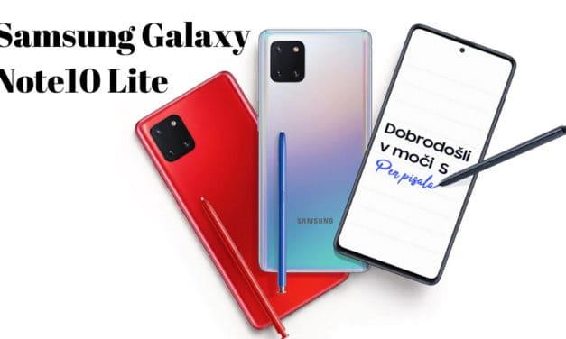 Unboxing Samsung Galaxy Note10 Lite Aura glow