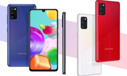 Samsung Galaxy A41 in Samsung Galaxy A21s