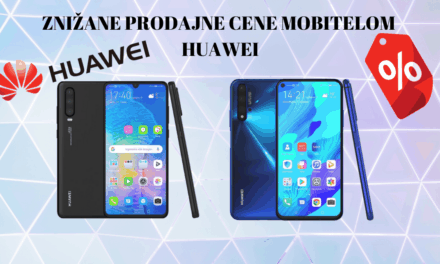 Znižane prodajne cene mobitelom Huawei P Smart 2019, Huawei P Smart Z, Huawei nova 5T, Huawei P30 lite in Huawei P30