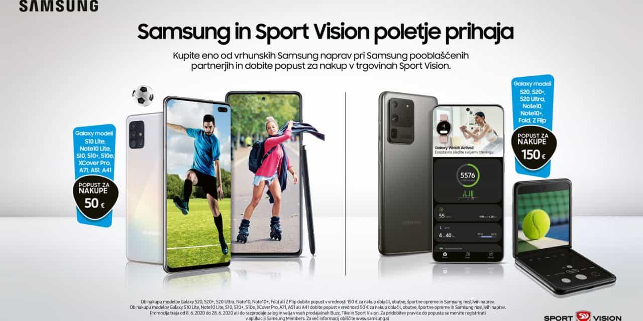 50€ ali 150€ popusta ob nakupu Samsung Galaxy naprav