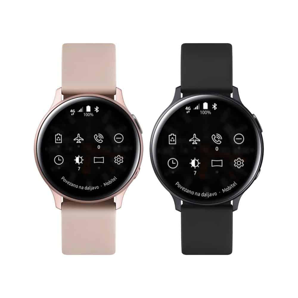 Komplet pametnih ur Sasmung Galaxy Watch Active2 Aluminium 40mm in 44mm LTE