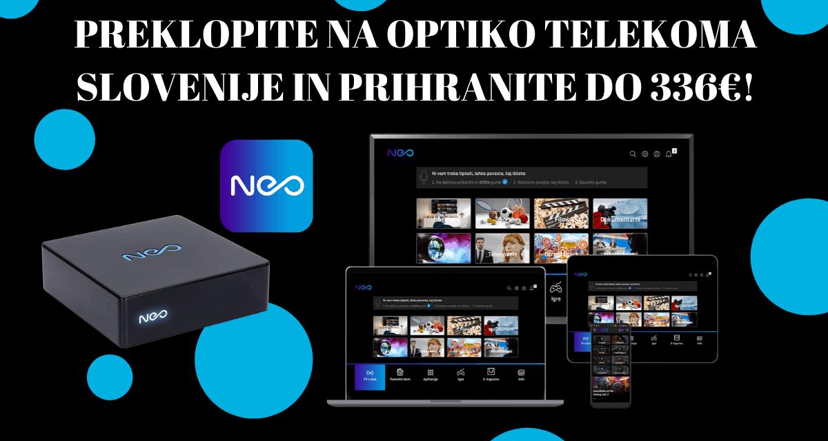 Posebna ponudba za optiko Telekoma Slovenije v Velenju