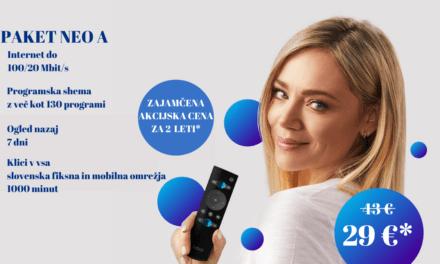 NEO A za nove naročnike samo 29€