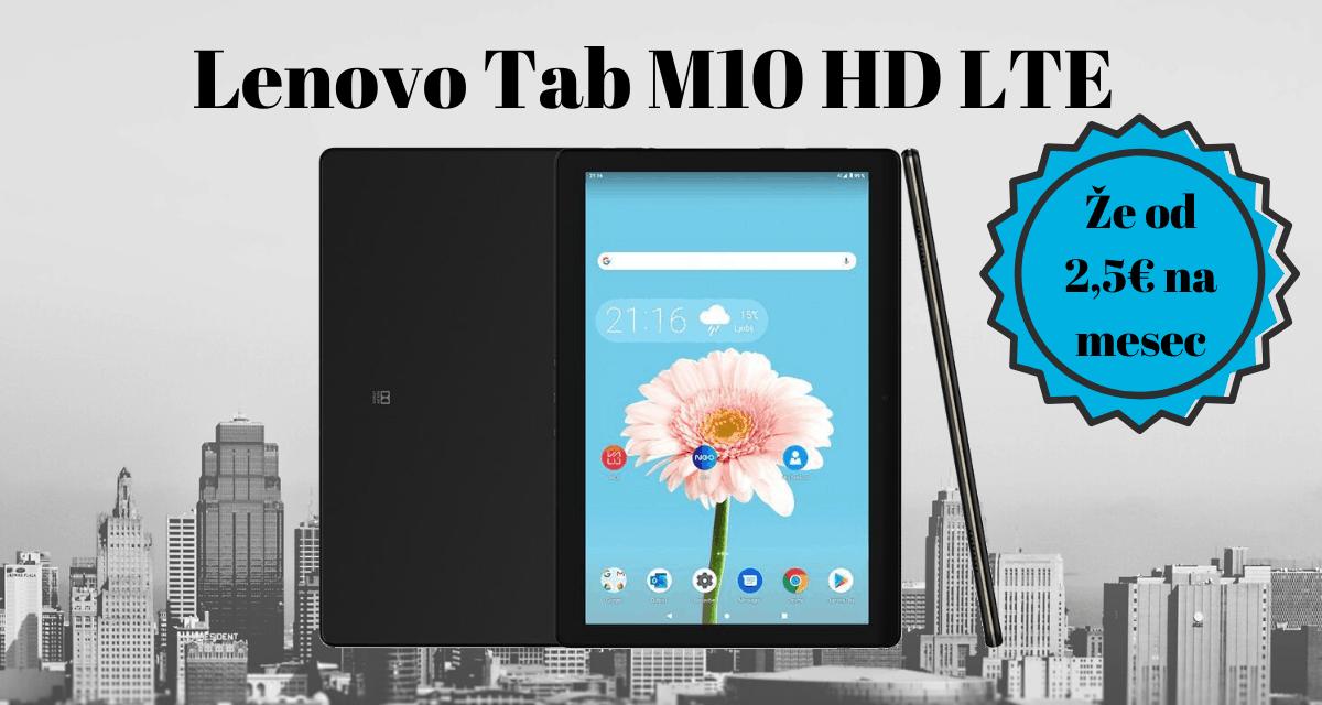 Tablica Lenovo Tab M10 HD LTE (ZA4H0029BG)