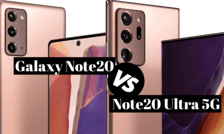 Primerjava mobitela Samsung Galaxy Note20 in Note20 5G Ultra