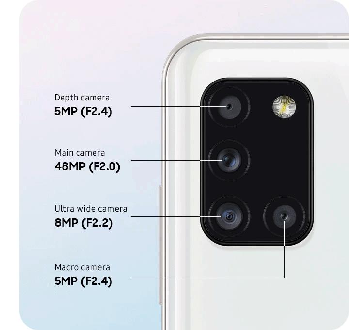 Samsung Galaxy A31 kamera