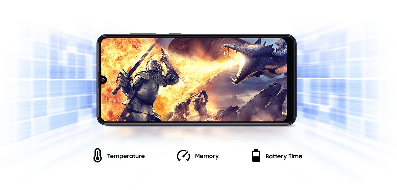 Samsung Galaxy A31 zmogljiv procesor