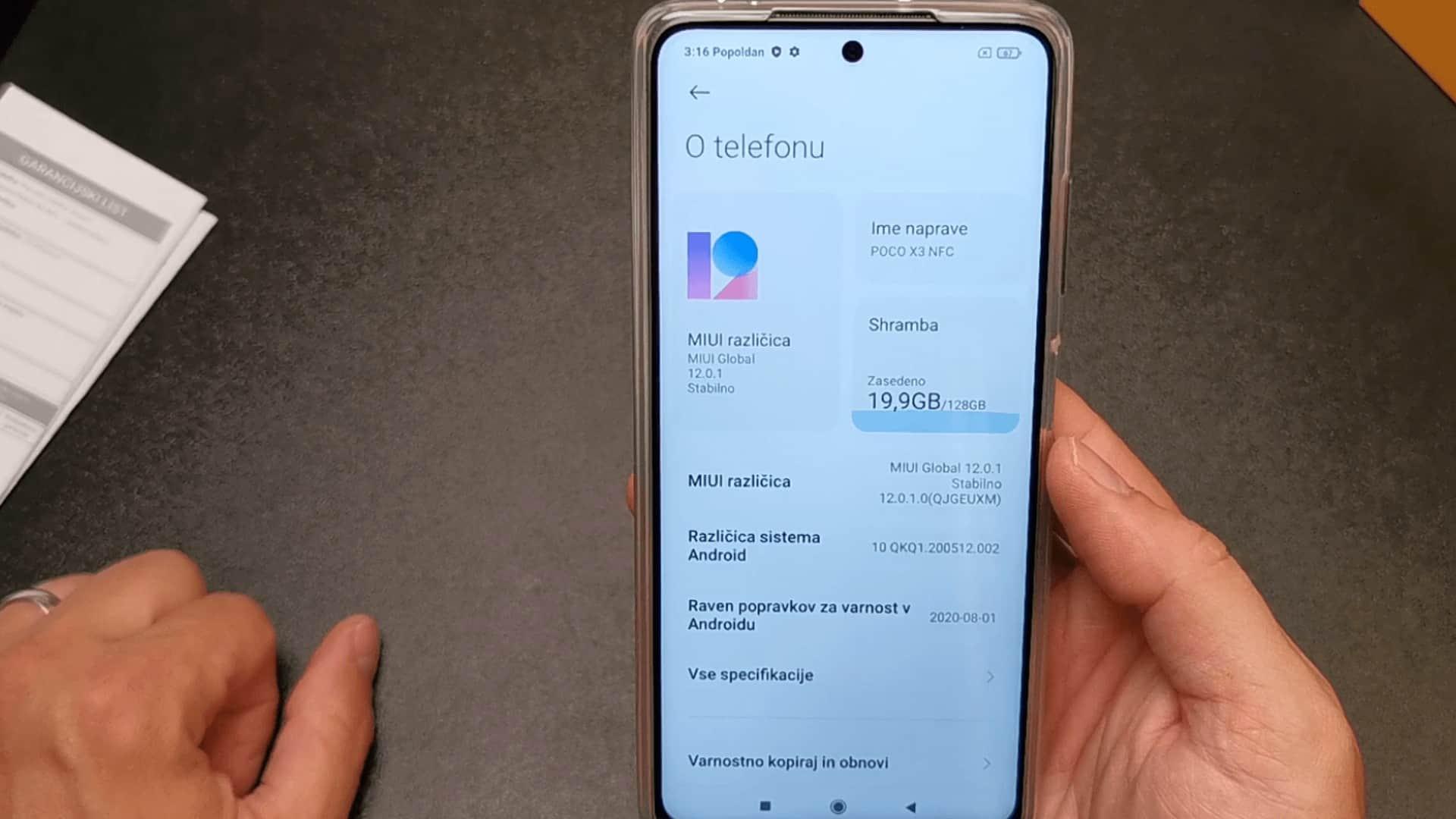 Poco-X3-NFC-Androd-10-MIUI-12