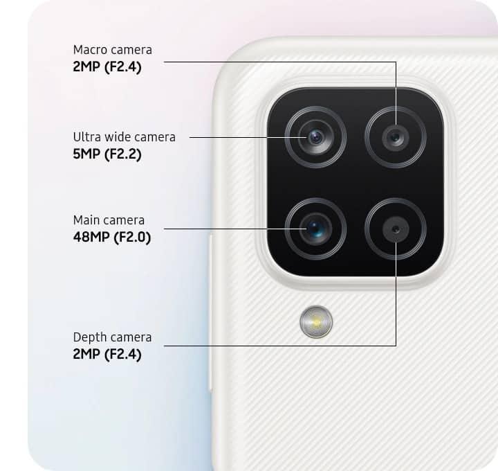 Galaxy A12 fotoaparati