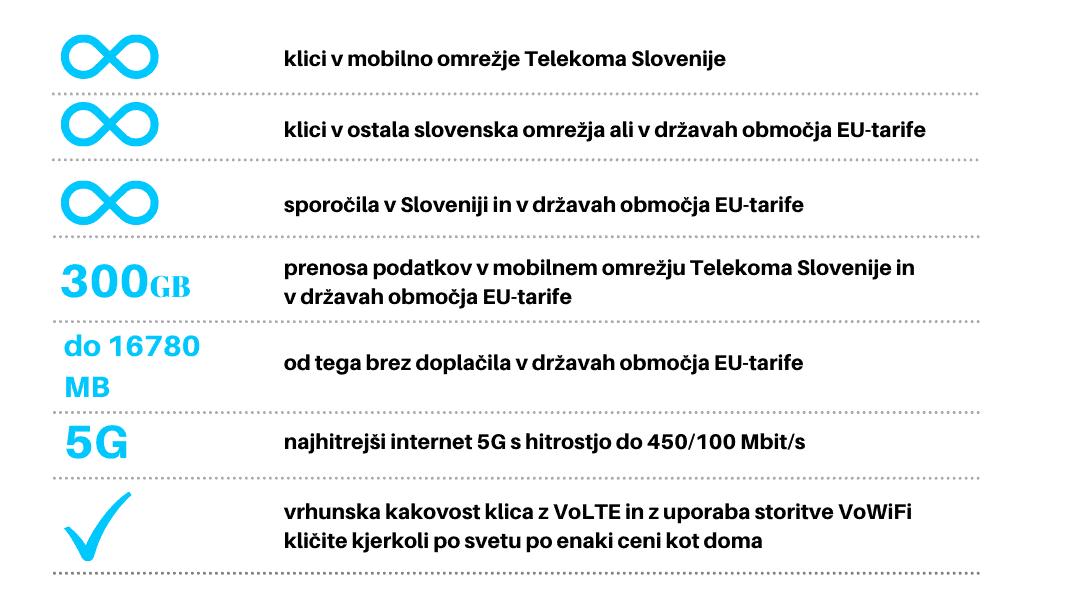 Paket 5G Telekom Slovenije 5g