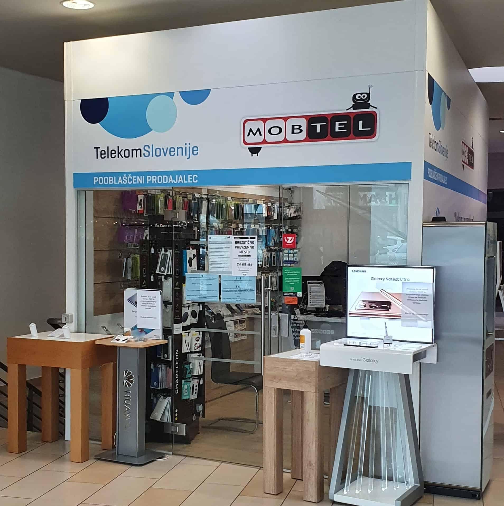 pooblaščeni prodajalec telekoma slovenije Prodajalna Mobtel Rogaška Slatina
