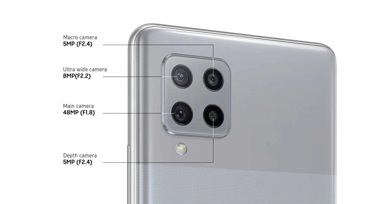 Samsung Galaxy A42 5G Štiri napredne kamere