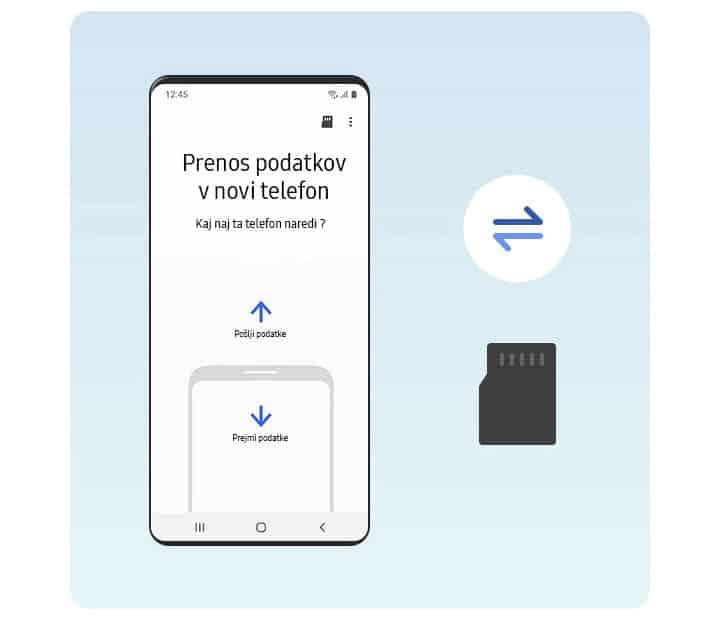 Smart Switch več različnih načinov za povezavo obnovitev iz sd kartice