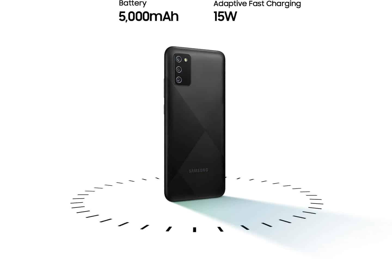Galaxy A02s 5.000 mAh.