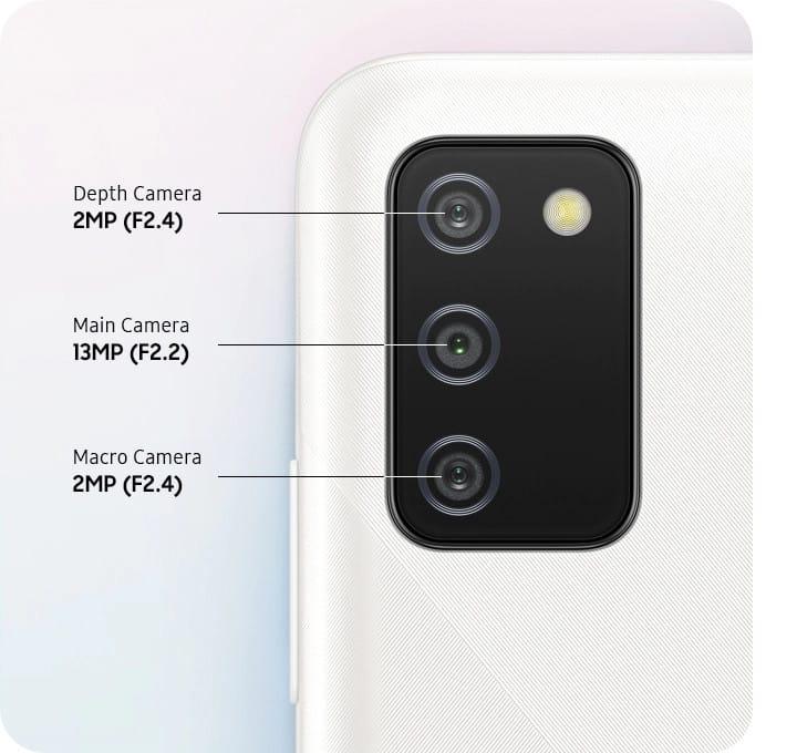 Galaxy A02s kamere, fotoaparat