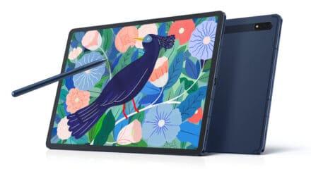 Samsung Galaxy Tab S7 in Tab S7+