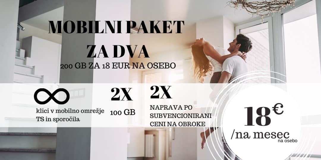 Mobilni paket Za dva (Telekom Slovenije)