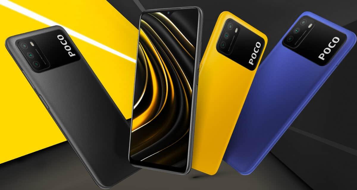 Xiaomi Poco M3 64Gb in 128gb