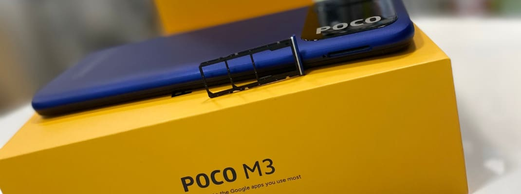 Poco M3 dual sim + micro sd do 512 GB