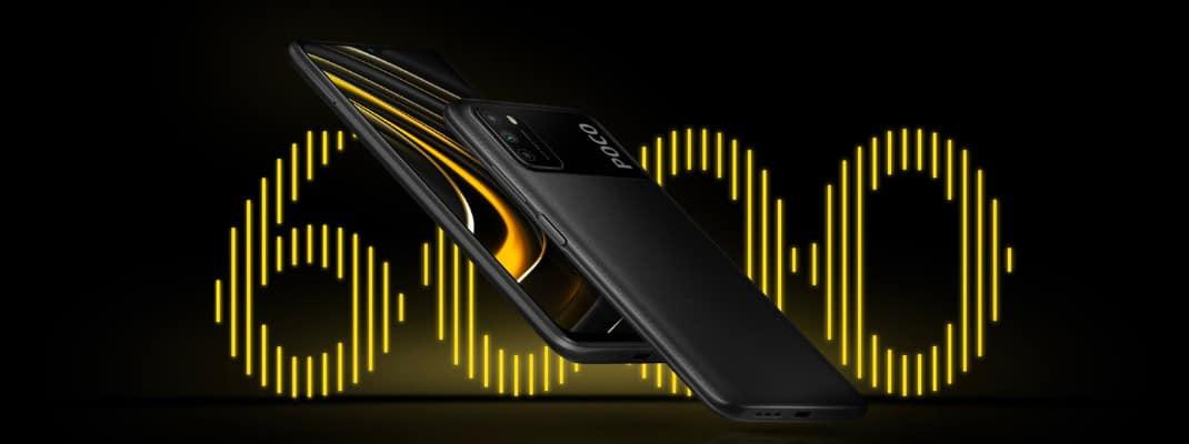Poco M3 masivna 6000mAh baterija