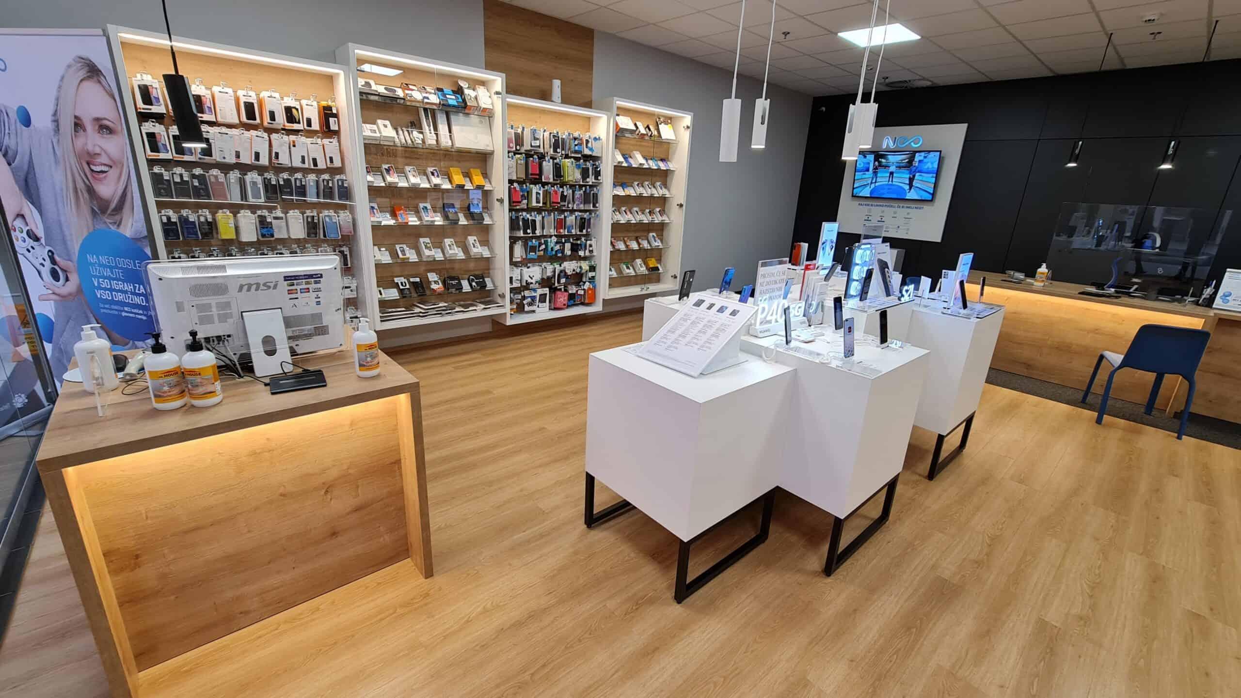 Prodajalna Mobtel Velenjka Pooblaščeni prodajalec Telekoma Slovenije