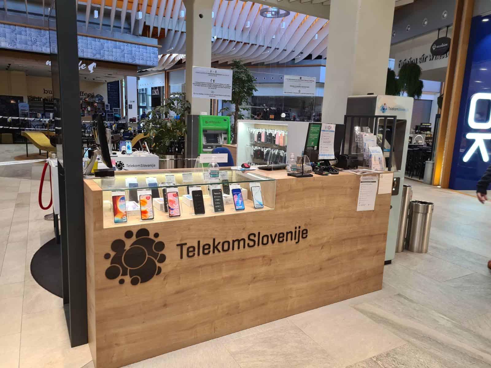 Pooblaščeni prodajalec Telekoma Slovenije | Prodajalna Mobtel (Center Vič)