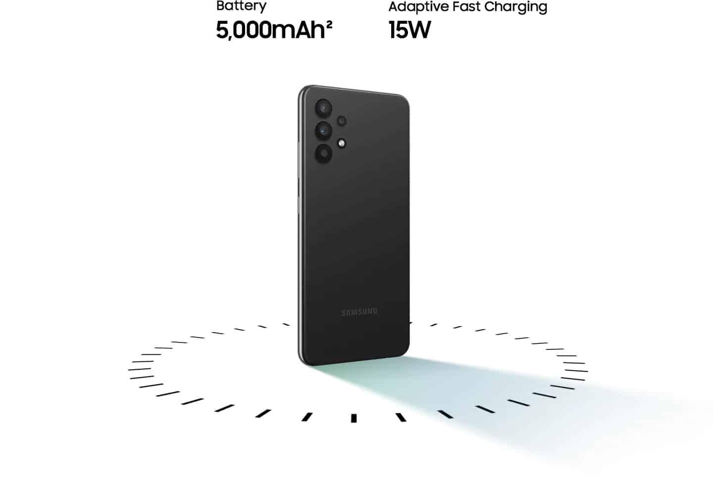 Galaxy A32 z izjemno 5.000 mAh baterijo