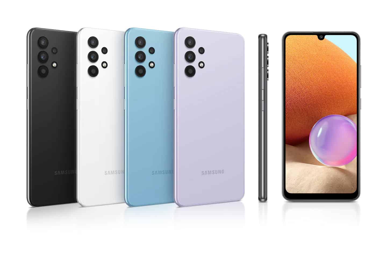 Samsung Galaxy A32 v različnih barva