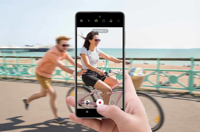 Samsung Galaxy A52, a52 5g Pripravljeni, superstabilizacija, zdaj