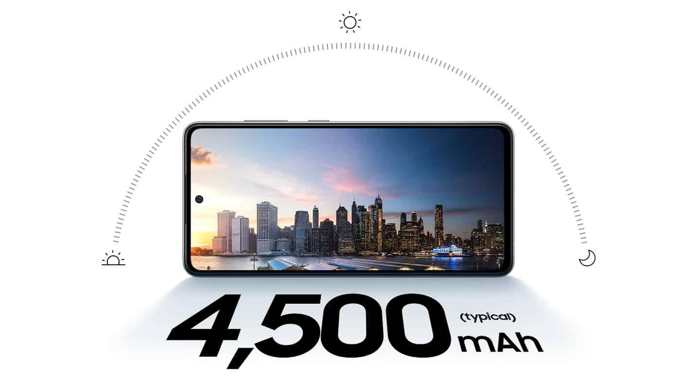 Samsung Galaxy A52 s 4.500mAh ki traja dva dni