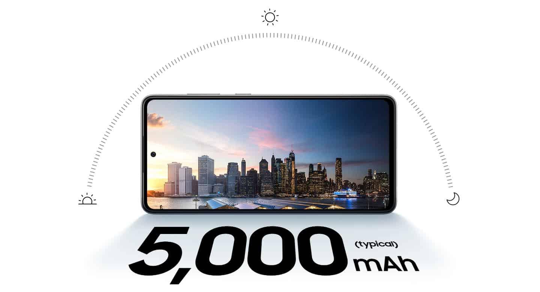 Samsung Galaxy A72 z izjemno 5.000mAh baterija