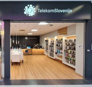 Prodajalna Mobtel Velenjka, Pooblaščeni prodajalec Telekoma Slovenije