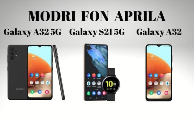 Modri Fon aprila (3. TELEFONI)