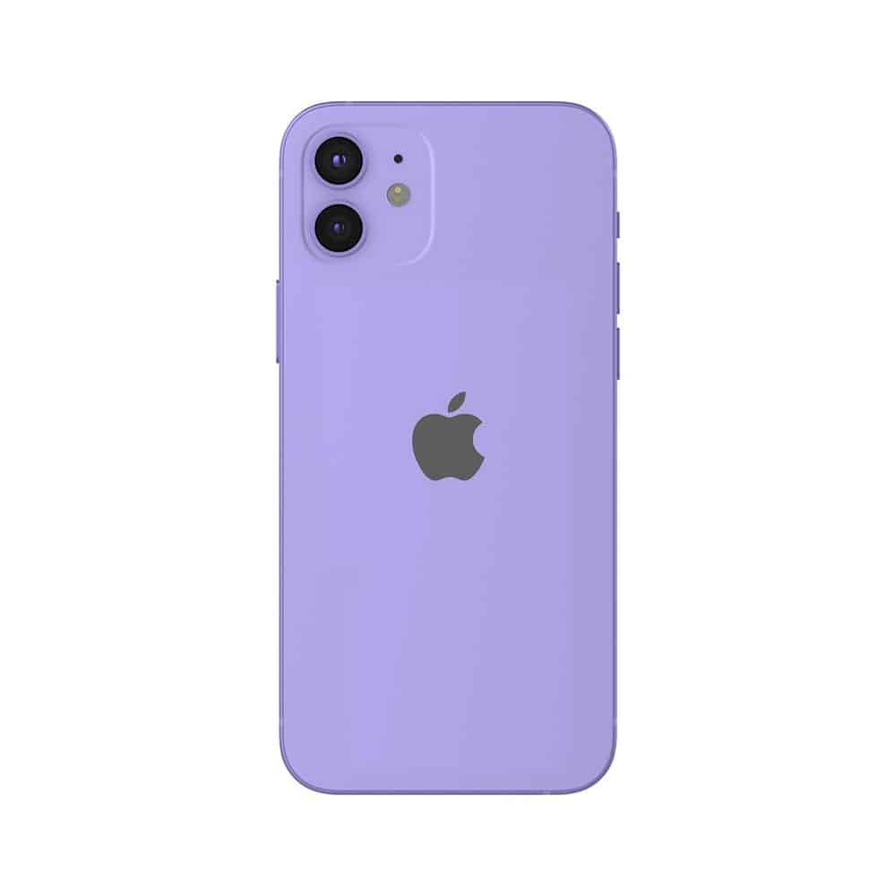 Apple iPhone 12 vijoličen.