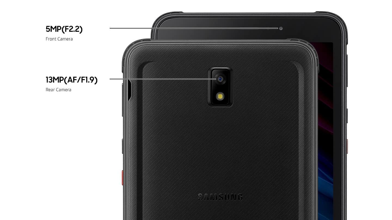 Galaxy Tab Active3 LTE fotoaparat