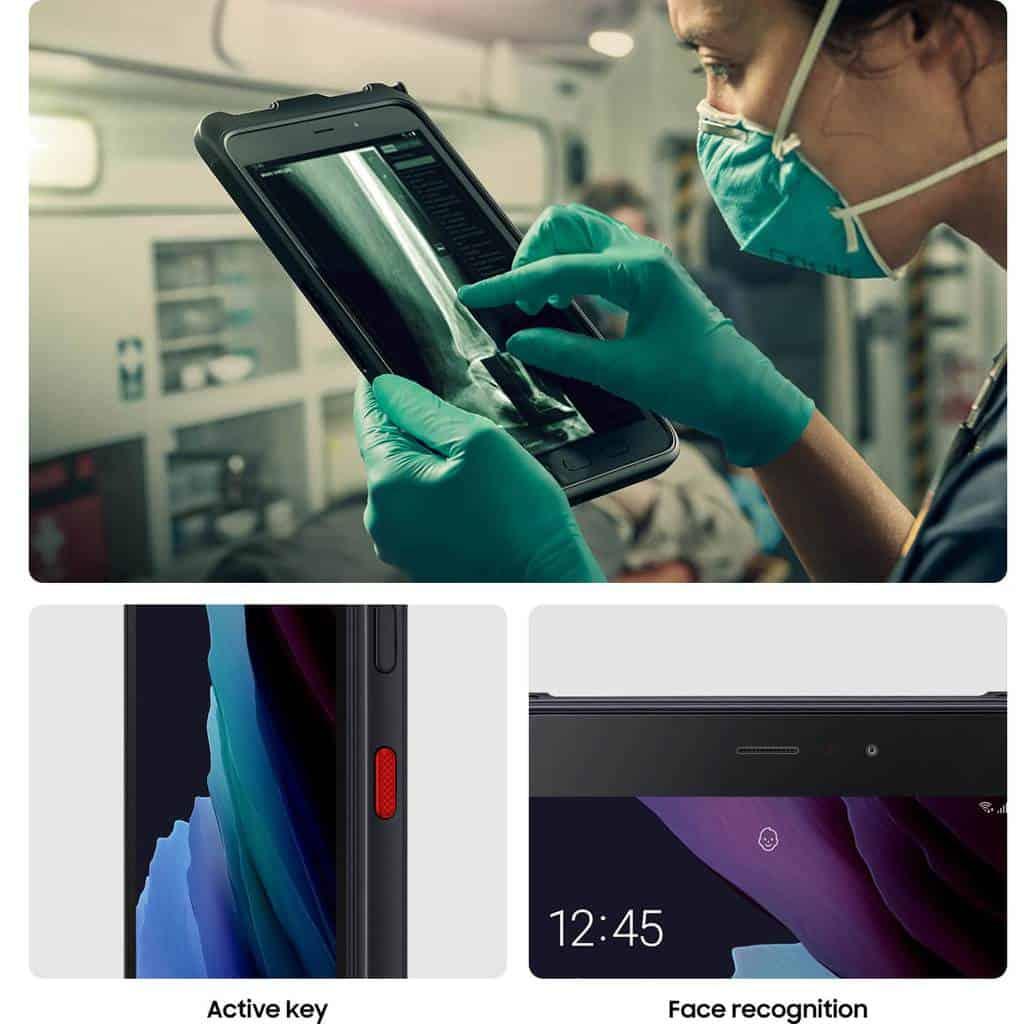 Galaxy Tab Active3 LTE uporaba z rokavicami