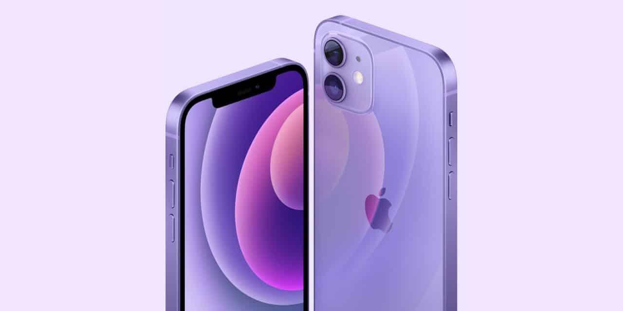 APPLE iPhone 12 vijoličen,  APPLE iPhone 12 mini vijoličen