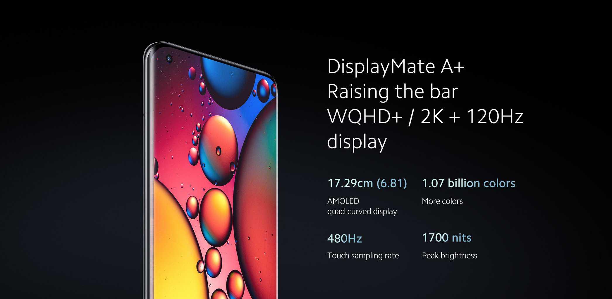 """Xiaomi Mi 11 Ultra z 120Hz 17,29 cm (6,81"""") AMOLED zaslonom"""