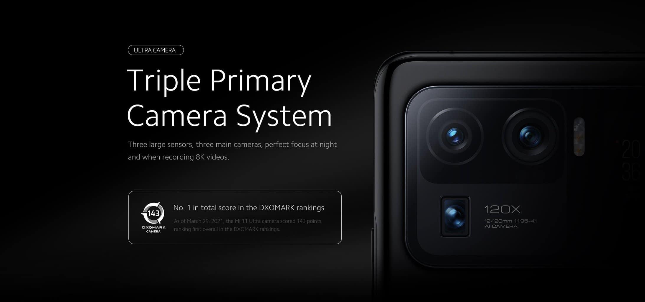 Xiaomi Mi 11 Ultra z novo Dual Pixel Pro tehnologijo