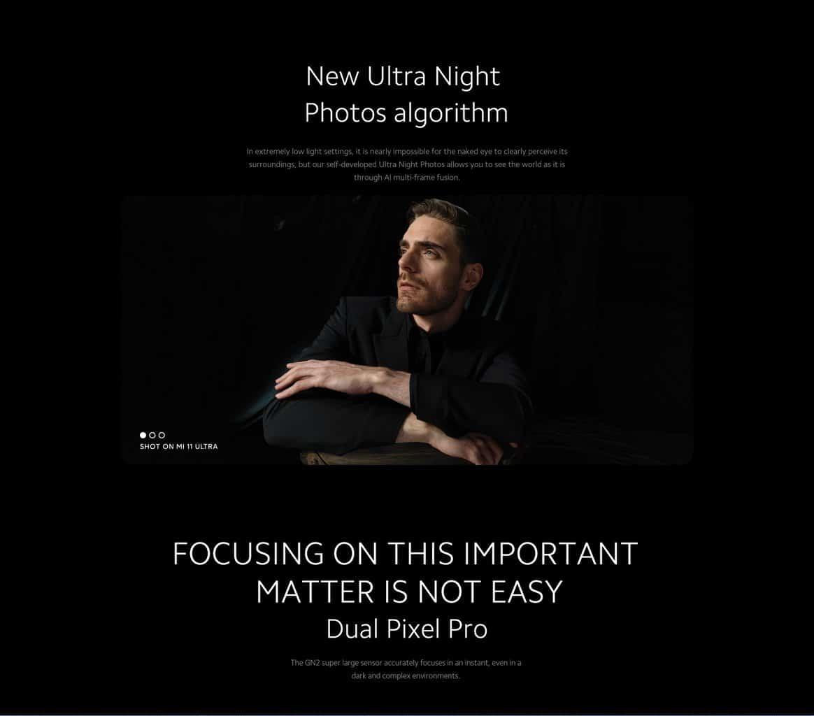 Xiaomi Mi 11 Ultra Night Mode