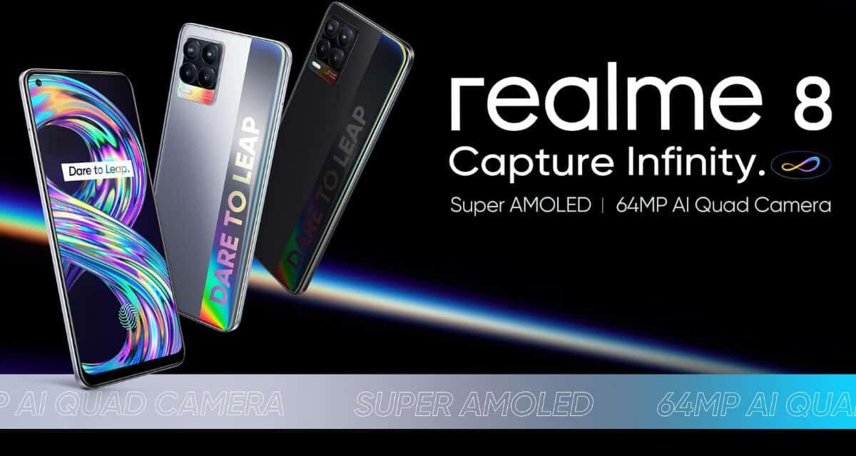 Realme 8 in Realme 8 Pro