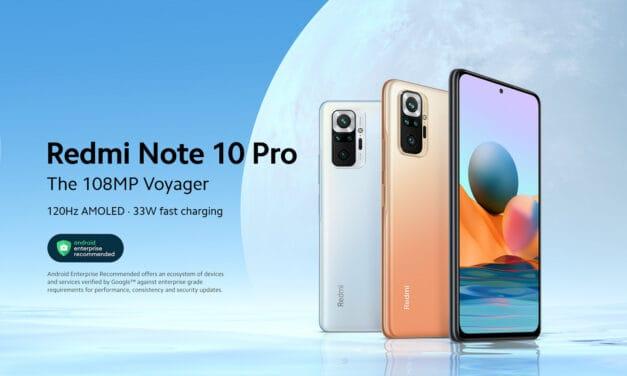Xiaomi Redmi Note 10 Pro – Top telefon za svojo ceno!