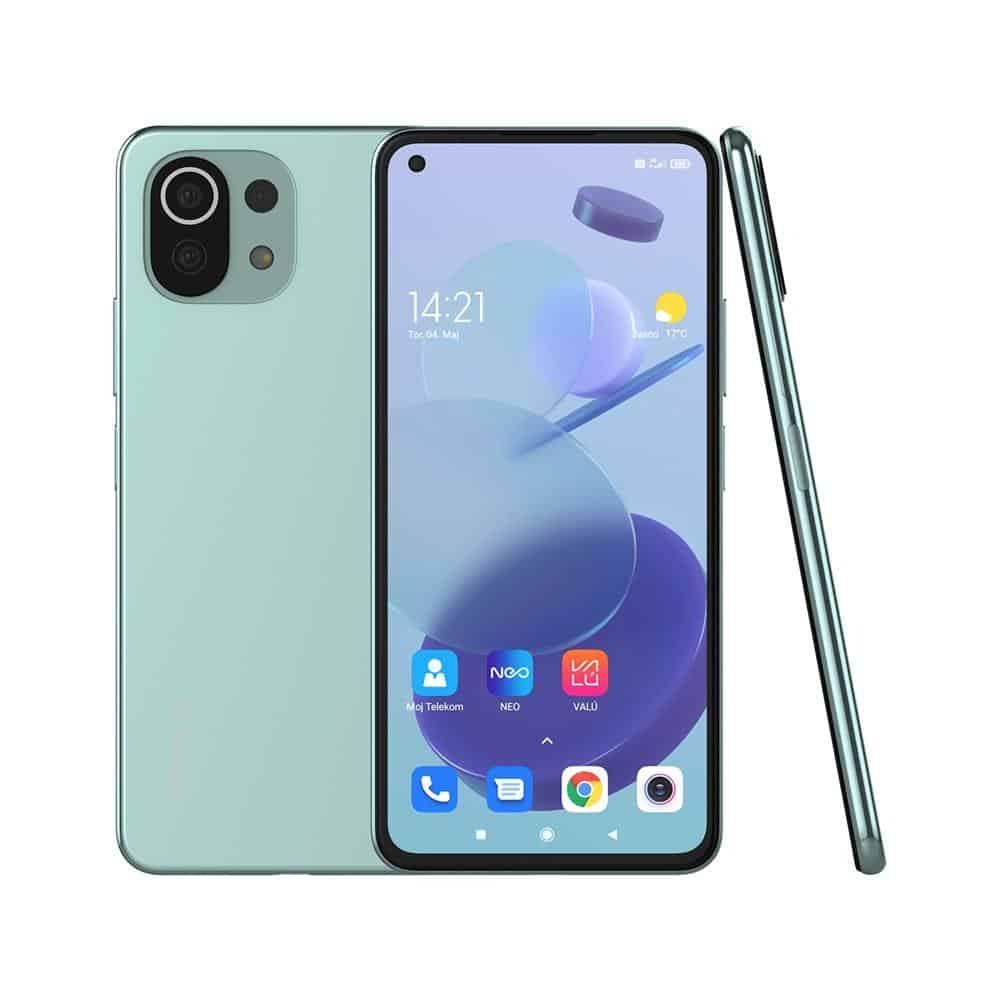 Xiaomi Mi 11 Lite 5G mint zelene barve