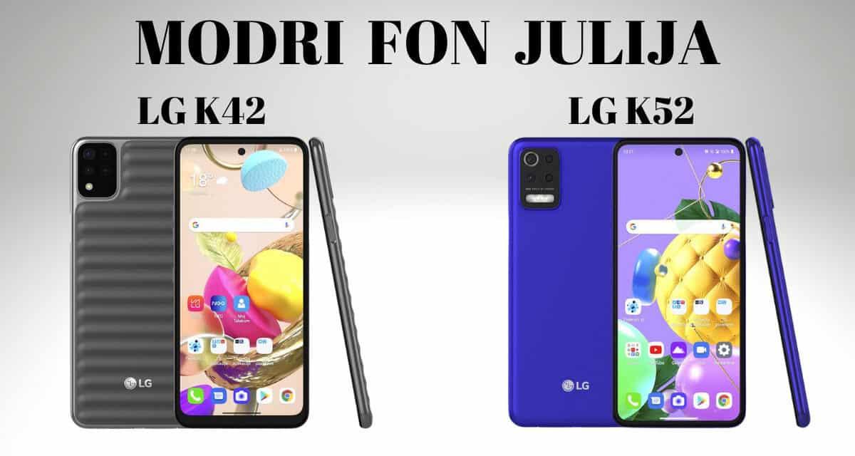 Modri Fon JULIJA – LG L42 IN K52