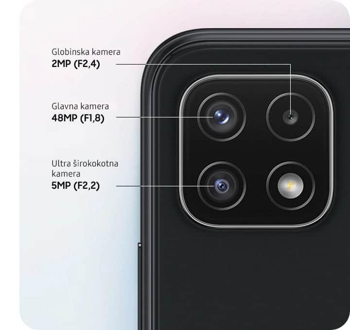 Samsung Galaxy A22 5G fotoaparat