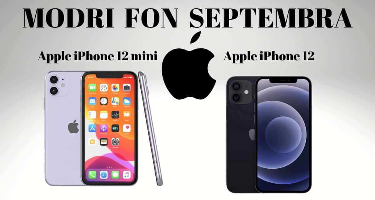 Modri Fon septembra – Apple iPhone 12 in Apple iPhone 12 mini