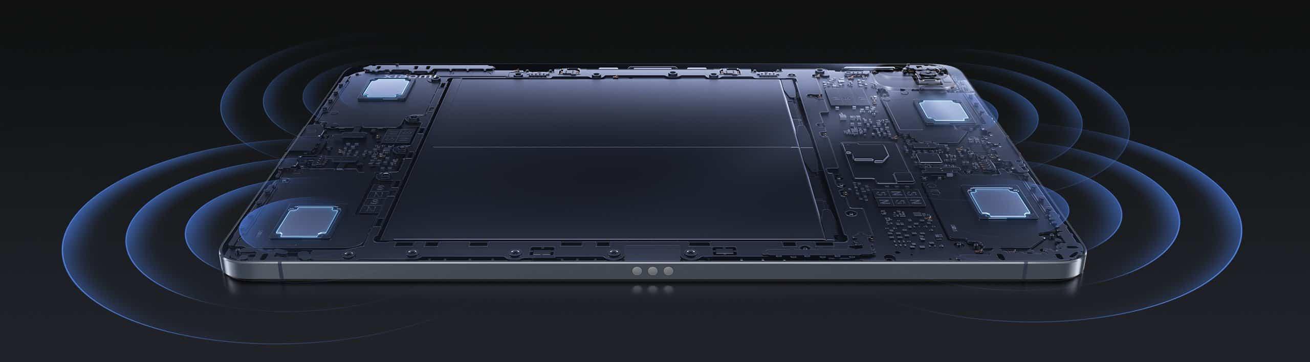 Tablica Xiaomi Pad 5 Avdio sistem štirih zvočnikov